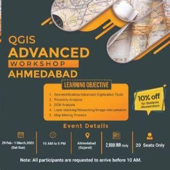 QGIS Workshop (Advanced) - Ahmedabad