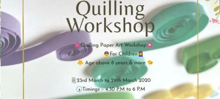 Summer Quilling Workshop for Children