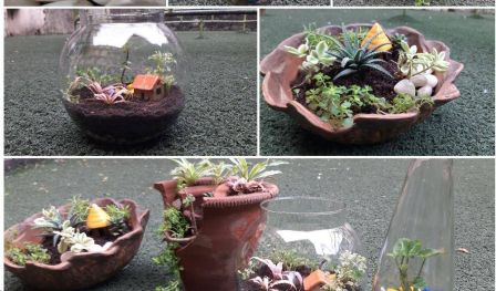 Terrarium and Dish Gardening Workshop - With Earthoholics