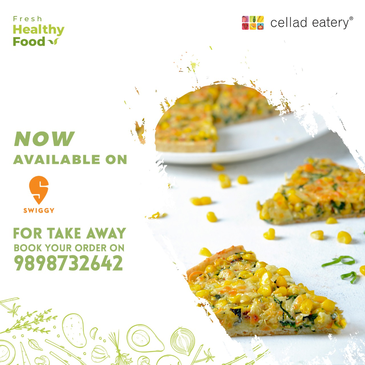 #CelladEatery is now on #Swiggy