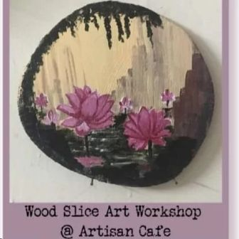 Wood Slice Art Workshop