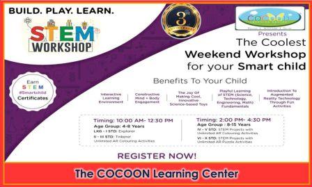 The Coolest Weekend STEM Workshop for Children