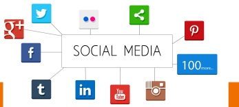 Inforcom Technologies offers Social Media presence management. The Responsive site remains in the center