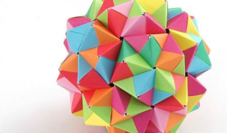 Modular Origami Workshop with Neha Parikh