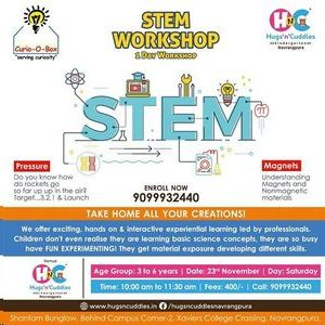 STEM Workshop - Age 3 to 6