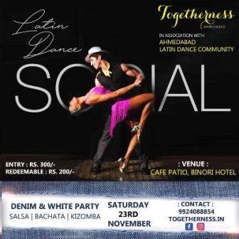 Togetherness Saturday latin dance Socials