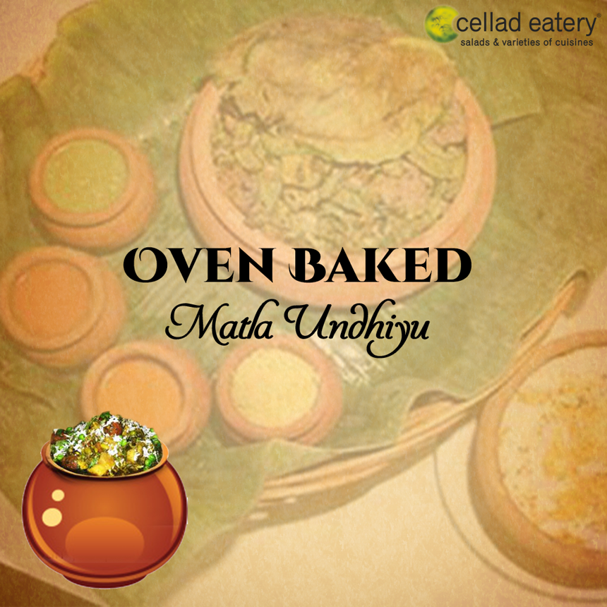 Make way for the winterspecial, ovenbaked, matlaundiyu at Cellad Eatery !