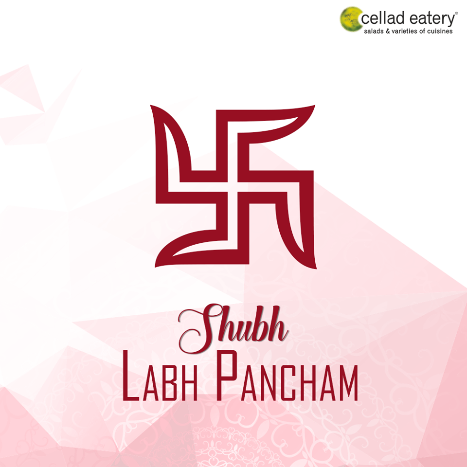 Shubh Labh Pancham - Good Wishes by Cellad Eatery