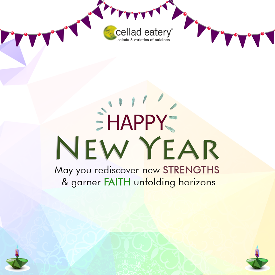 Wishing you sparkling and joyous new year by Cellad Eatery