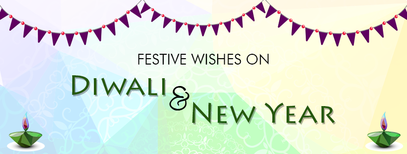 Festive wishes on Diwali and New Year - Cellad Eatery