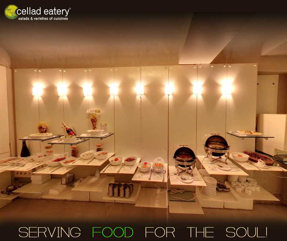 Drop in hungry and leave delightfully satiated - at Cellad Eatery
