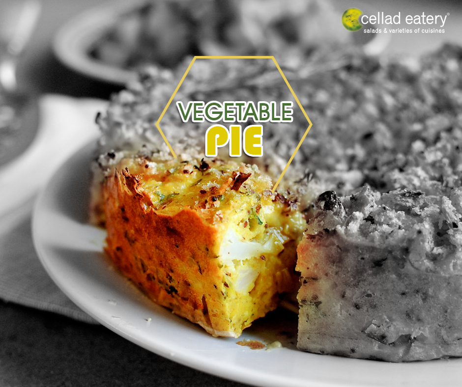 Vegetable Pie - at Cellad Eatery