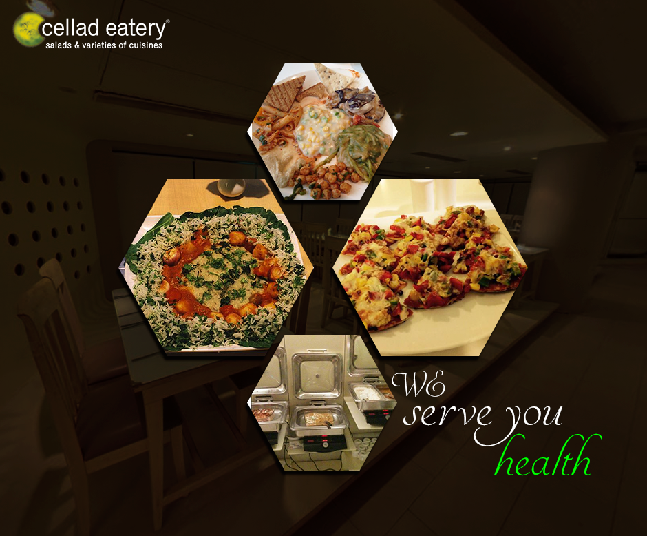 Have dinner as a big healthy family - at Cellad Eatery