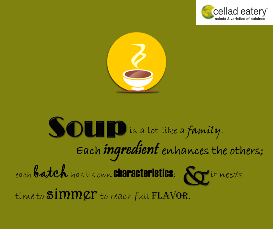 Soup - At Cellad Eatery
