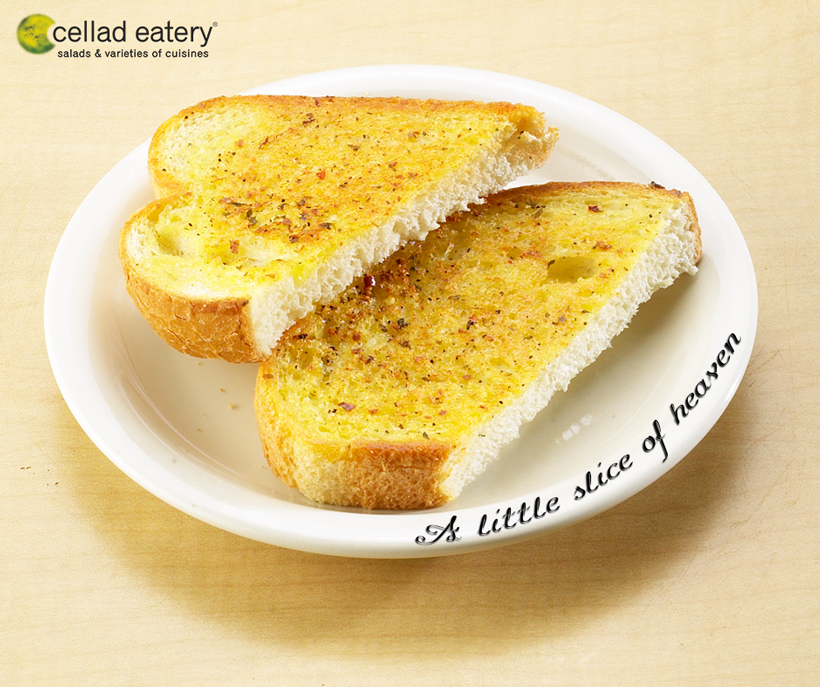 A perfect toast for the week! - at Cellad Eatery