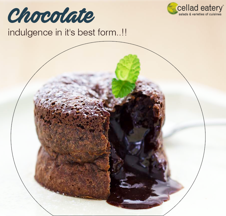 Chocolate makes everything better ! - Cellad Eatery