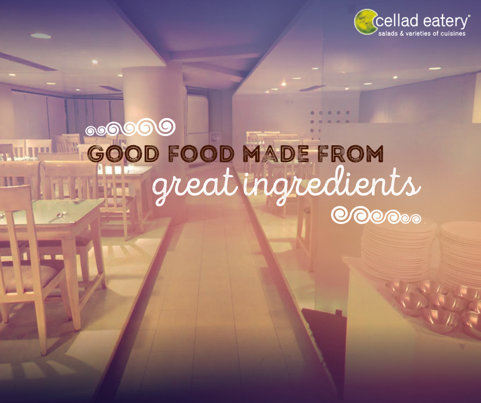 Nutritious meals await you - at Cellad Eatery