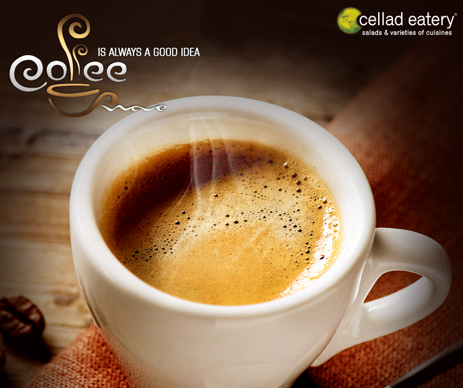 Warming Cup of Coffee - at Cellad Eatery