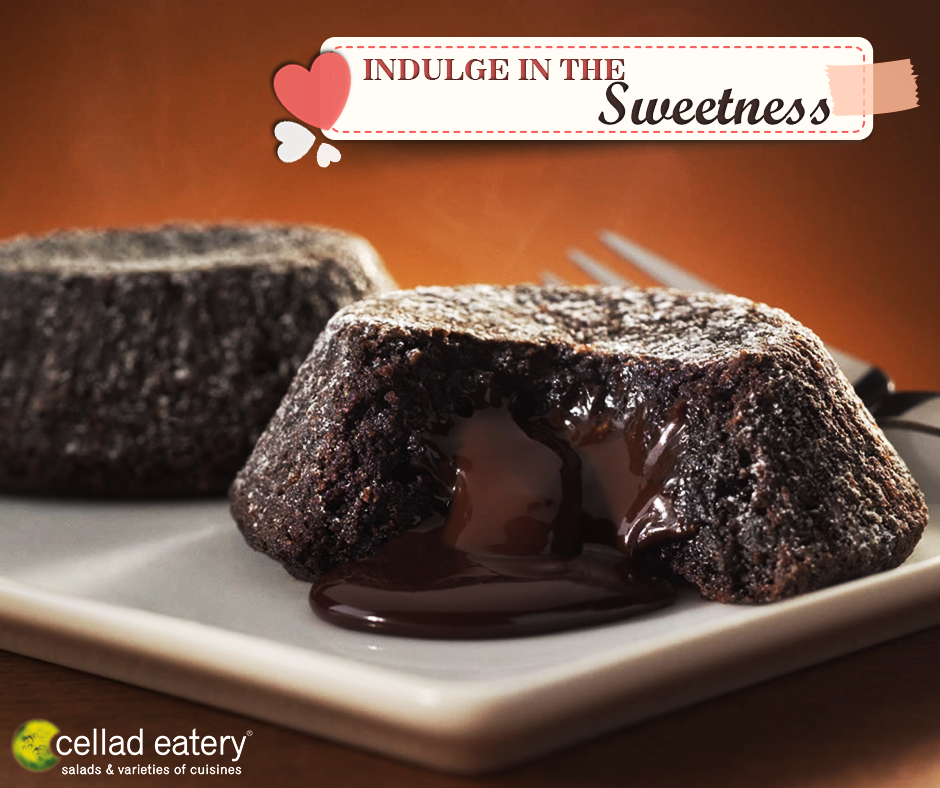 Lava Cake - at Cellad Eatery