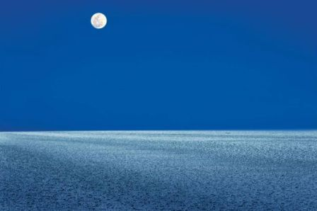 Full Moon in White Rann and Colorful Kutchh