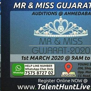 Mr & Miss Gujarat 2020 Ahmadabad Auditions