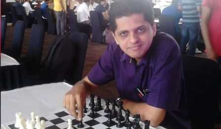 Kharghar Rubiks cube & Blitz Rating Chess Tournament by Saurabh Barve in Mumbai