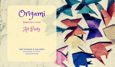 Beginner`s Origami Workshop Indiranagar - With Sai Priya