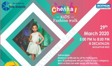 Chennai Kids Fashion Walk