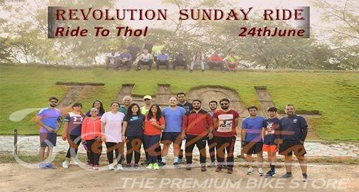 Revolution Sunday bike Ride to Thol Lake