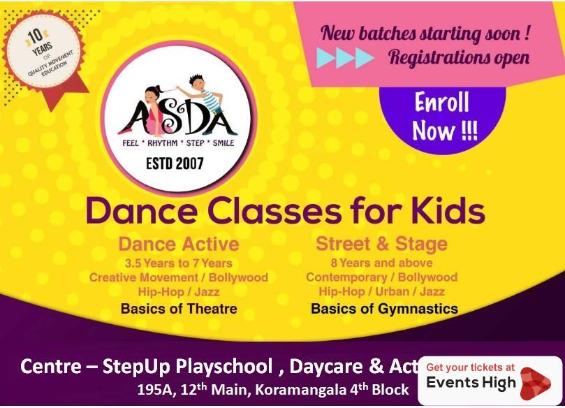 ASDA for Kids - Western Dance Classes
