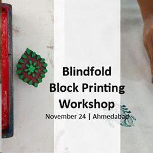 Blindfold Block Printing Workshop