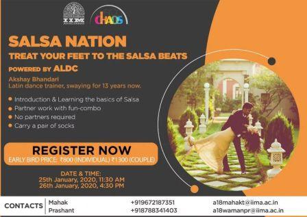 SalsaNation - Treat your feet to the Salsa beats! by Akshay Bhandari