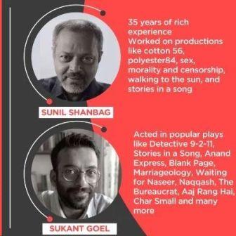 Theatre Workshop by Sunil Shanbag & Sukant Goel