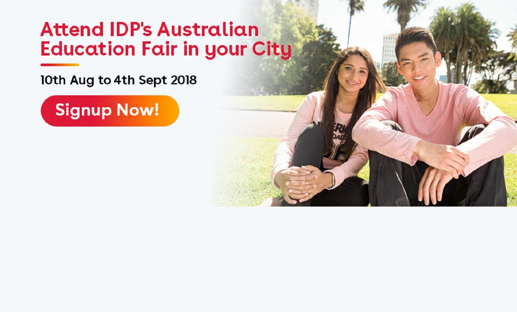 Attend IDP`s Australian Education Fair in Ahmedabad (22nd Aug/11am to 4pm)