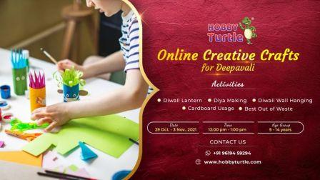 Online Creative Crafts for Diwali
