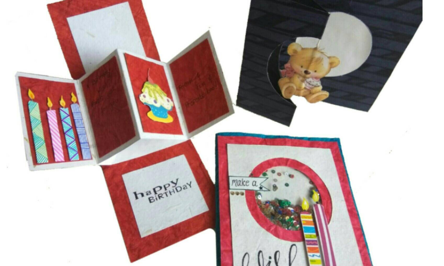 Greeting Card`s Workshop - With Ritikala, crafting, greeting card,