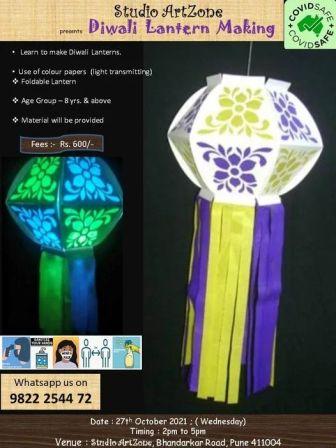Diwali Lantern Making Workshop