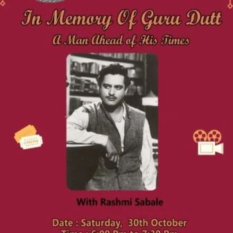 Guru Dutt : A Man Ahead of His Times
