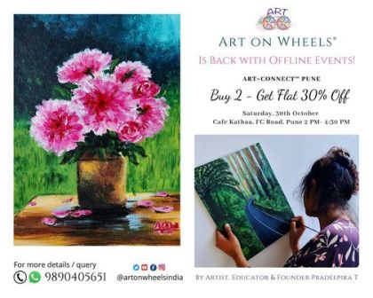 Art~Connect™ - `` A New Day`` Acrylic Painting for Beginners