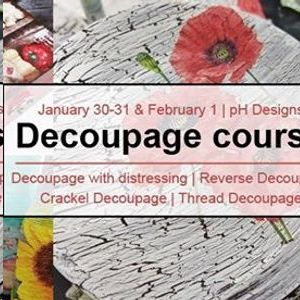 Decoupage Course