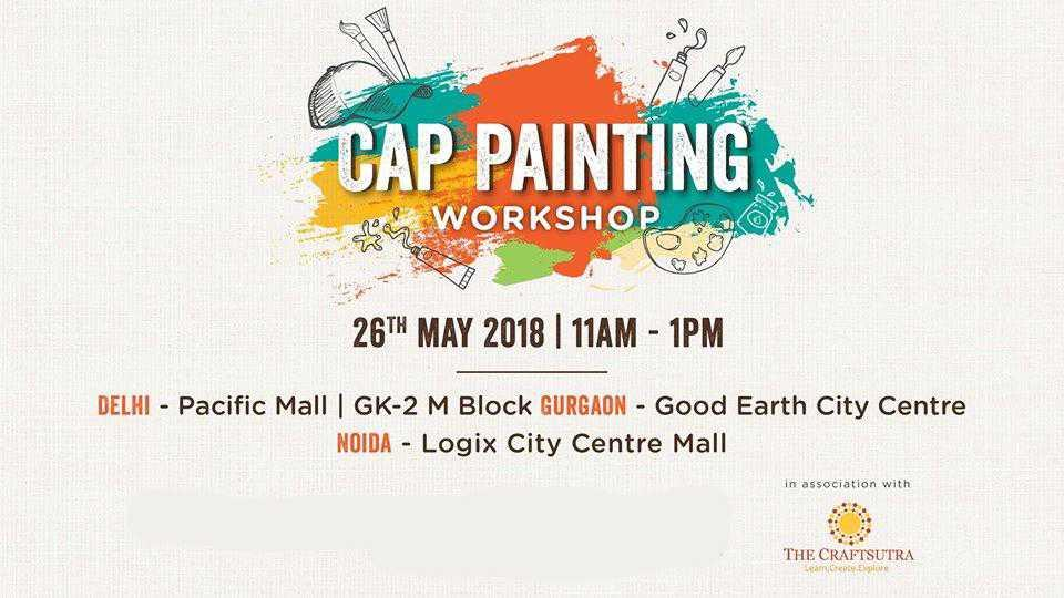 Cap Painting Workshop at Chaayos!