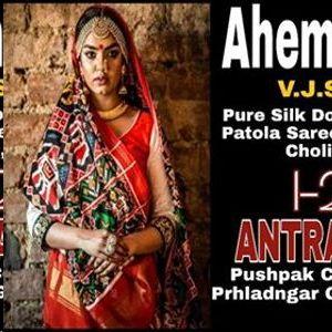 Pure Silk Patan And Rajkot Patola Saree Exibition at Ahemedabad