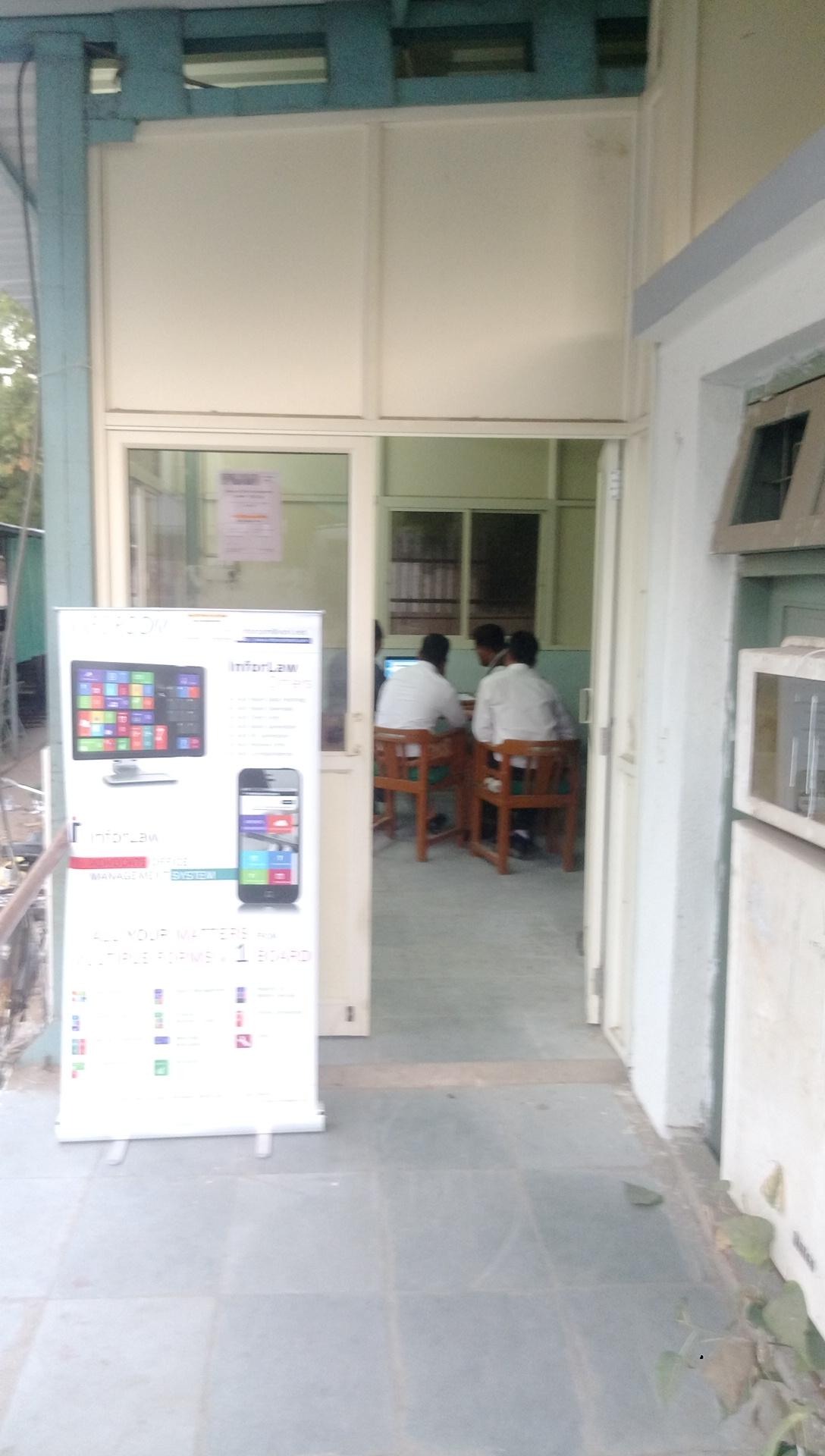Inforcom Tech at City Civil Court for Software Demo