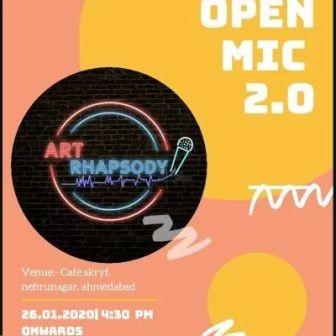 Art Rhapsody Open Mic 2.0