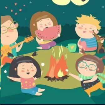 Offline Camp Fire Party