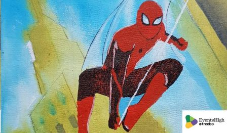 Spider-man Painting Workshop - With Sachin Shinde