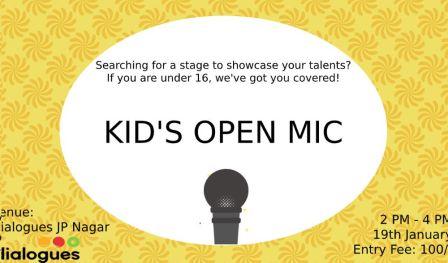 Open Mic for KIDS