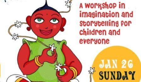 Weaving Stories: A storytelling workshop for children