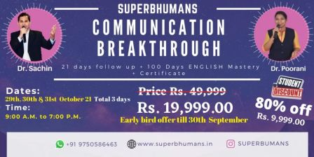 Communication Breakthrough - Speak with confidence + Master ENGLISH