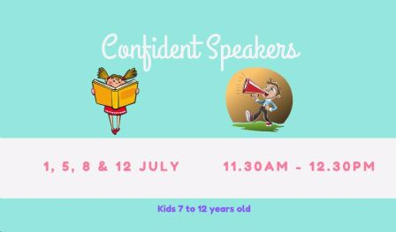 Confident Speakers (For Kids)